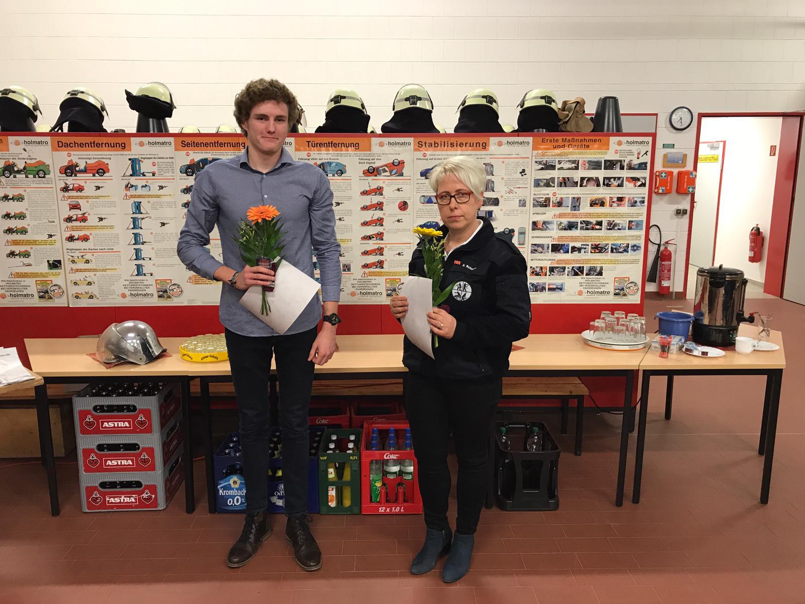 Beförderung zur Feuerwehrfrau/Feuerwehrmann